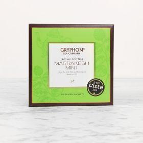 Gryphon Tea Marrakesh Mint, Green Tea, Peppermint, Spearmint, Lemongrass