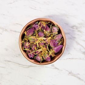 Pink Rose & Marigold